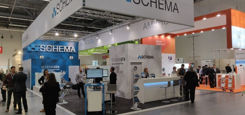 SCHEMA stand at tcworld conference 2018